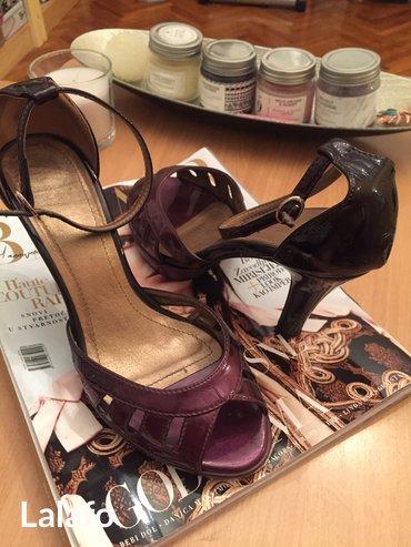 Lakovane sandale,malo nosene,37 br - Pozega