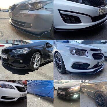 Avtomobil üçün ön və yan liplərMercedes, Bmw, Nissan, Hyundai, Kia