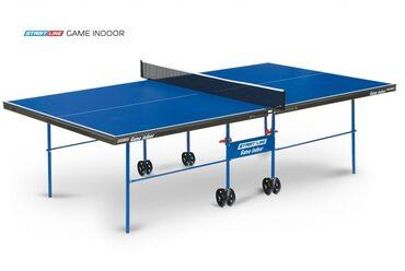 купить теннисный стол в Кыргызстан: Теннисный стол START LINE GAME INDOOR с сеткой 6031Размер теннисного