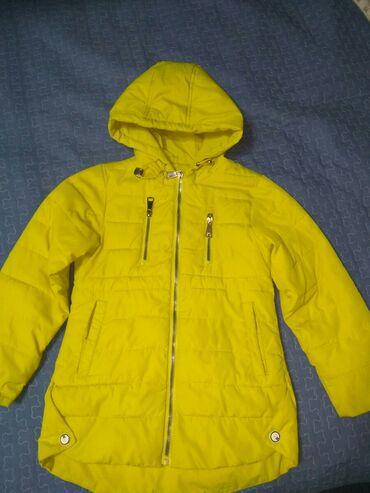 Яркая курточка на девочку 5-6-7 лет,рост 116. Забирать в 4