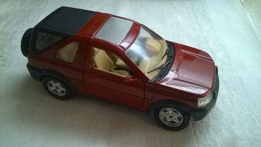 Avtomobil modelləri | Srbija: Burago Land Rover, 1 24, bordo. ocuvan