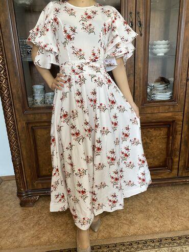 Красивое нежное платье. Цена 1600. Размер 42
