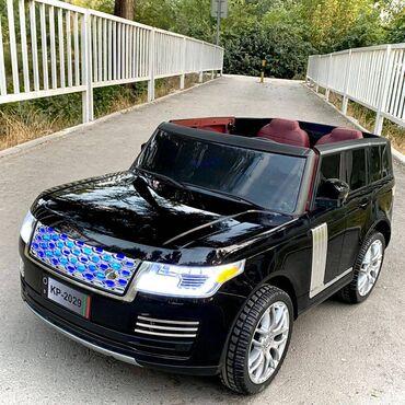689 объявлений: Детская электромашинка Range Rover VELAR  Рекомендуем двум детям от 1