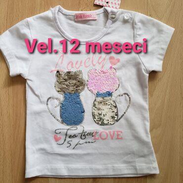 Dečiji Topići I Majice | Sombor: Majica pisi-brisi za 12 mes. Novo, iz Italije