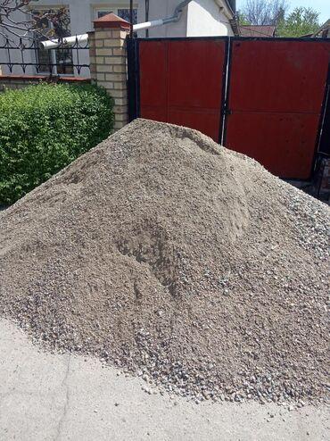 Доставка отсева чистый для бетона и стяжки. Также имеется бетонная