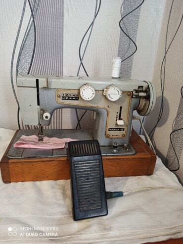 Швейные машины - Шопоков: Продаю швейную машинку Чайка 3, с электро приводом, шьёт хорошо