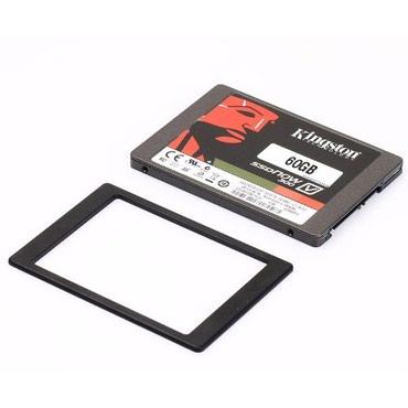 """Ssd kingston 60gb ssdnow v300 - Кыргызстан: 2.5"""" SSD 60GB SOLID-STATE DRIVE 10х FASTER (новый)Плюсы:повышенная"""