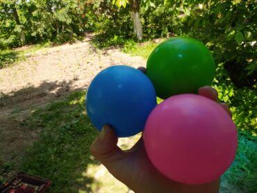 Игрушки в Кызыл-Кия: Кызыл-Кия, шарики для сухого бассейна, 40 штук по 10 сом каждый