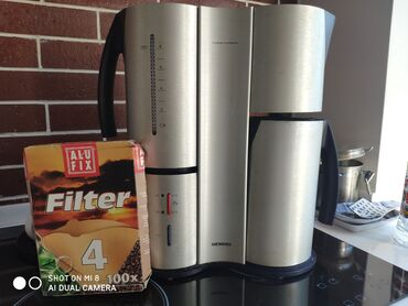 Капельная кофеварка Siemens TC91100, использует молотое кофе, дизайн