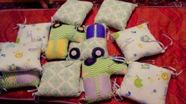 Продаются симпатичные бортики на кроватку новые в Бишкек