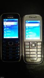 Nokia 6233 crna i siva, baterije nove, sim free-rade na sve mreže, - Kragujevac