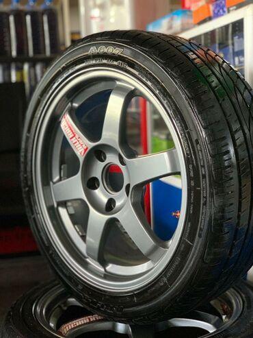 12194 объявлений: Продаю оригинальные диски RAYS WOLK RACING TE37 R17 5/114 7j вылет 45