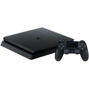 Электроника в Сиазань: PlayStation 4 slim içində 9oyun var.2 qara pult oynanlimiyib