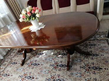 Продаю стол комплект со стульями 4 шт. Стол размер 2 метра с раздвижны