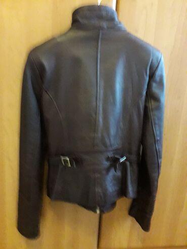 Kozna jakna, malo nosena.Broj 38