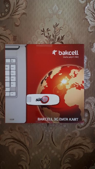 wifi data kart - Azərbaycan: Bakcell data kart, yenidir işlenmeyib. Maraqlanan şexsler zeng etsin
