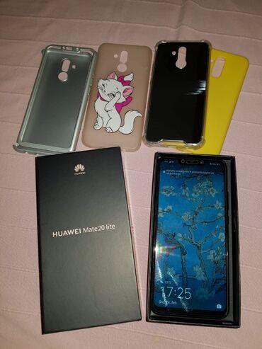 Bez torbica - Srbija: Huawei matte 20 lite U odličnom stanju 10/10 Dual sim, 64GB, sim free