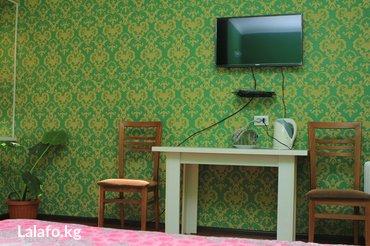 Двухместный номер. тепло и чисто. день- в Бишкек