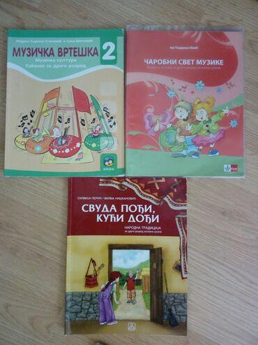 Knjige, časopisi, CD i DVD | Obrenovac: Muzicko za drugi razred,izdavaci eduka i kletnarodna tradicija