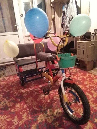 Детский велотрайк, эксклюзив.(срочно) в Ош