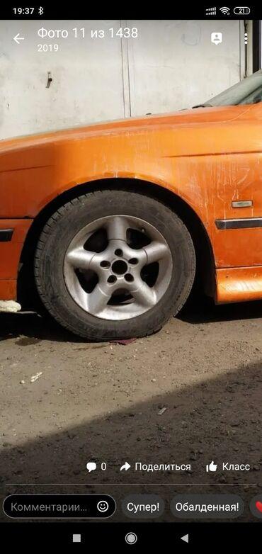 шины диски бу в Кыргызстан: Привозные без сварок комплект освежить надо краску без шин На БМВ