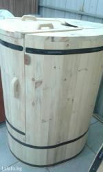 Продается фито бочка (кедровая)! Высота 125-130 смДиаметр 75-85 в Бишкек