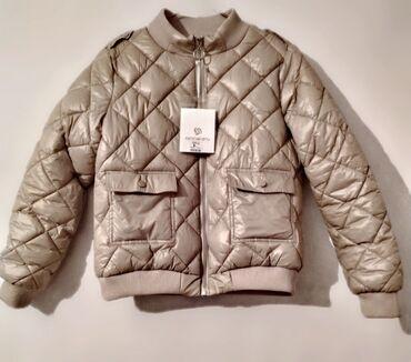 Новая куртка болоньевая в манжетах, удобными кармашками. Размер s,m (4