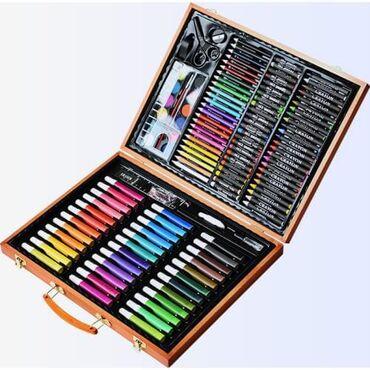 Рисуем дома, детский набор для рисования на карантине