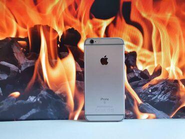 ноутбук айфон в Кыргызстан: Б/У iPhone 6s 64 ГБ Серебристый