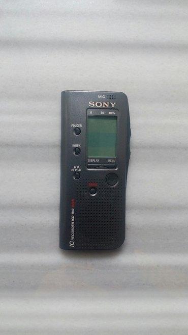 """Цифровой диктофон """"Sony"""" (Япония). Беспрерывная запись 3 часа. в Бишкек"""