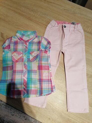 Desigual farmerke straight - Srbija: H&M farmerke beby roze boje. Lepo očuvane bez oštećenja i tragova