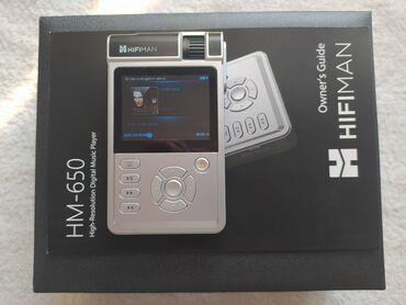 ipod touch 4g в Кыргызстан: Продаю новый Hi-Fi плеер HIFIMAN HM-650. В комплекте карта памяти на