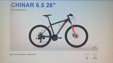 Velosiped Isma chinar velosipedi satilir.Resmi dillerden alinib.Ela v