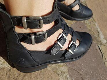 Ženska obuća | Pirot: Kožne cipele-sandale marke Bronx. Jako kvalitetne i skupo plaćene