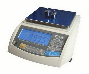 Лабораторные весы CAS MWP-3000H используются на предприятиях