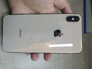 айфон 8 цена ош in Кыргызстан | APPLE IPHONE: IPhone Xs Max | 256 ГБ | Золотой Б/У | Беспроводная зарядка, Face ID