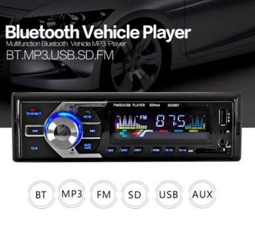 Auto radio bluetooth mp3-usb-sd 4x50w auto radio blutut koji pored fm - Beograd