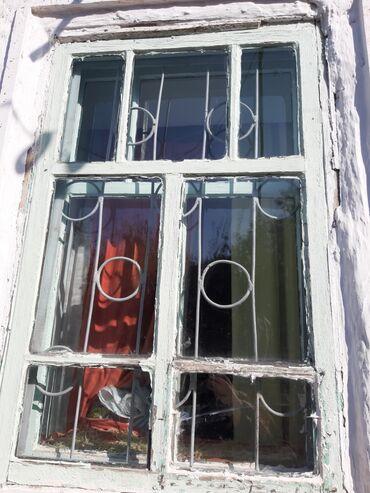 Цены на решетки на окна - Кыргызстан: Комплект коробка,двойная рама решётки, все стекла целые .ширина