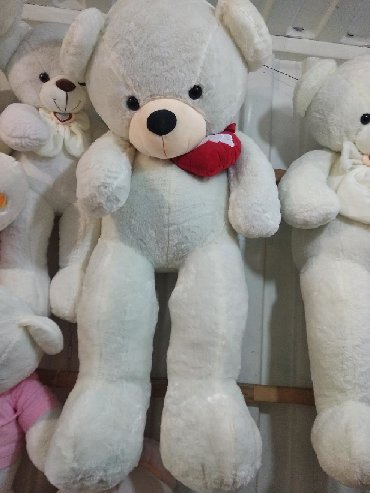 b u rybalka в Кыргызстан: Мишка, размер 140 см,мягкие игрушки, плюшевые медведи,мамалак,аю