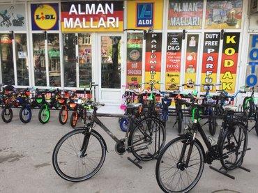 Bakı şəhərində MADE IN GERMANY velosiped satilir  diger mehsullar da movcuddur