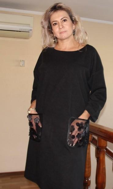 Личные вещи в Кант: Продам платья оптом полиэстер+вискоза размер 48-54 синие, бардо