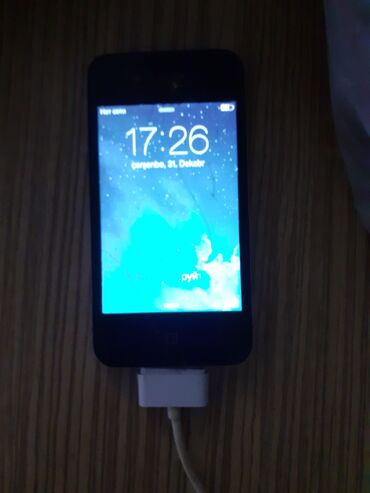 iphone 4s telefon - Azərbaycan: İşlənmiş iPhone 4S Qara