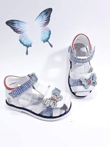 Odlicne kozne poluotvorene sandalice sa anatomskim gazistem. Imaju