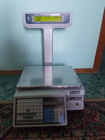 Продаю весы с печатью этикетки - Digi sm500 mk4 в отличном рабочем