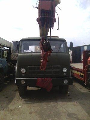 Услуги автокрана Ивановец,вылет стрелы 14 метров,грузоподьемность до в Бишкек