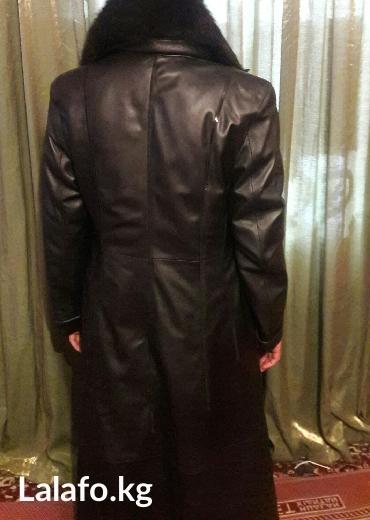 Пальто - Сокулук: Плащ кожаный в хорошем состояние размер 50