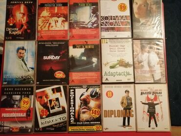 Knjige, časopisi, CD i DVD | Ivanjica: Cd strani filmovi. 100 dinara po komadu, sve za 800