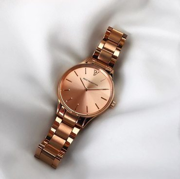 PAUL VALENTINE watches in Rose Gold NEW