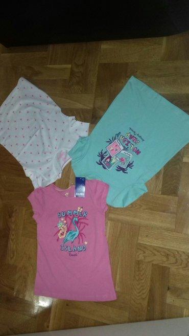I tri majice - Srbija: Paket od tri nove majice sa etiketom,velicina za dete od 2-4 god.Sve