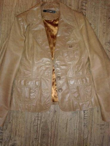 Kozna jakna jako malo nosena,bez imalo ostecenja,maltene kao nova... - Kovacica
